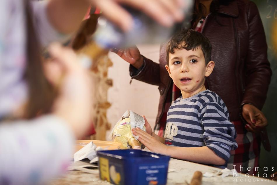 Reportage dans un centre de réfugiés pour la Croix-Rouge de Belgique